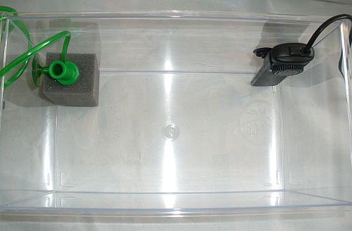wie richte ich ein triops aquarium richtig ein welche technik. Black Bedroom Furniture Sets. Home Design Ideas